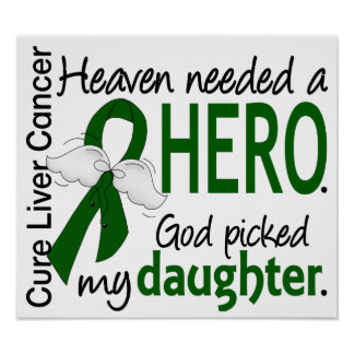 Liver Cancer Heaven Needed a Hero Daughter Poster