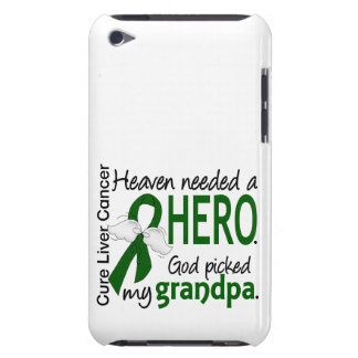 Liver Cancer Heaven Needed a Hero Grandpa Barely There iPod Cover