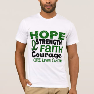 Liver Cancer HOPE 3 T-Shirt
