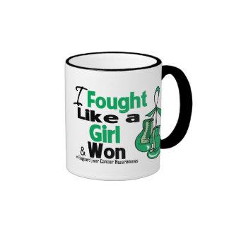 Liver Cancer I Fought Like a Girl and Won Mug