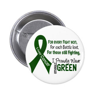 Liver Cancer I Proudly Wear Emerald Green 1 Pins