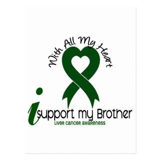 LIVER CANCER I Support My Brother Postcard