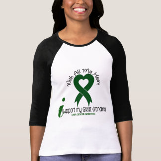 LIVER CANCER I Support My Great Grandma T-shirt