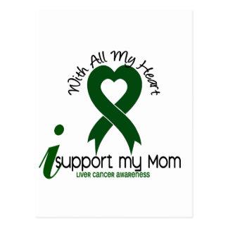 LIVER CANCER I Support My Mom Postcards