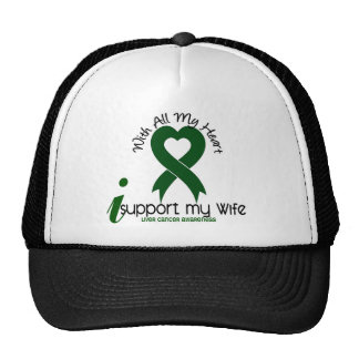 LIVER CANCER I Support My Wife Cap