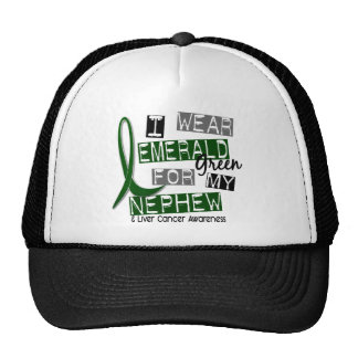 Liver Cancer I Wear Emerald Green For My Nephew 37 Cap