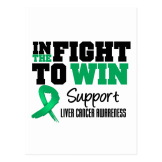 Liver Cancer In The Fight To Win Post Cards