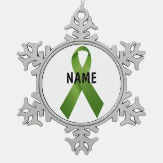 Liver Cancer Memorial Ornament