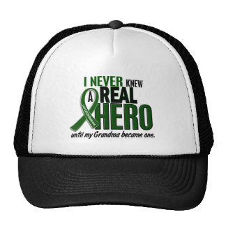 Liver Cancer NEVER KNEW A HERO 2 Grandma Cap