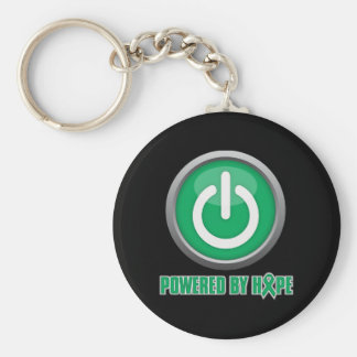 Liver Cancer Powered by Hope Key Chains