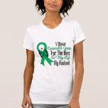 Liver Cancer Ribbon Hero My Husband Tee Shirt