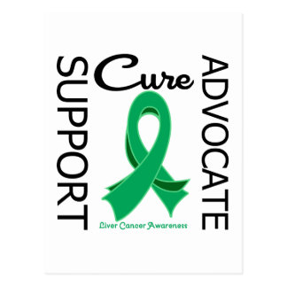 Liver Cancer Support Advocate Cure Postcard