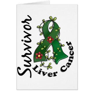 Liver Cancer Survivor 15 Greeting Card