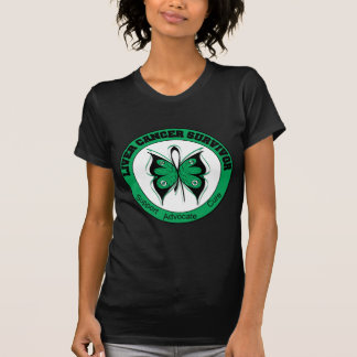 Liver Cancer Survivor Butterfly Tshirt