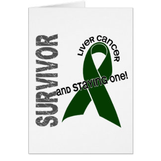 Liver Cancer Survivor Greeting Cards