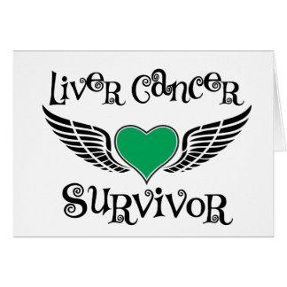 Liver Cancer Survivor Greeting Card