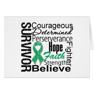 Liver Cancer Survivor Collage Cards