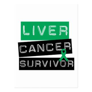 Liver Cancer Survivor Post Cards
