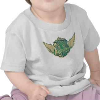 Liver Cancer Survivor Vintage Winged Shirt