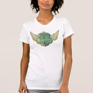 Liver Cancer Survivor Vintage Winged Tshirt