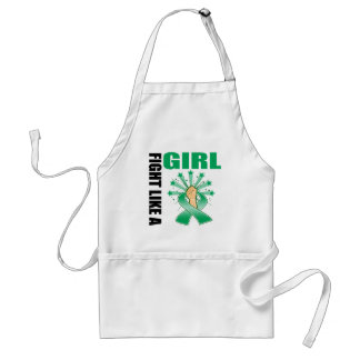 Liver Cancer Victory Fight Like A Girl Standard Apron
