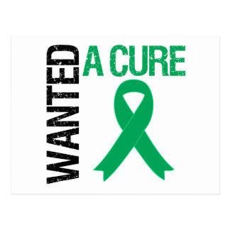 Liver Cancer Wanted A Cure Postcard