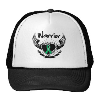 Liver Cancer Warrior Fighter Wings Hats