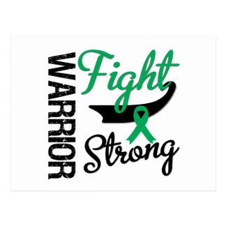 Liver Cancer Warrior Postcard
