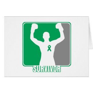 Liver Cancer Winning Survivor Greeting Cards