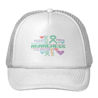 Liver Disease Colorful Slogans Hats