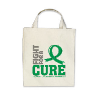 Liver Disease Fight For A Cure Tote Bags