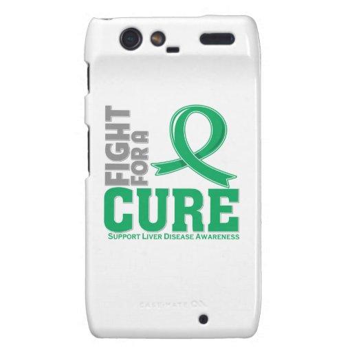Liver Disease Fight For A Cure Droid RAZR Cases