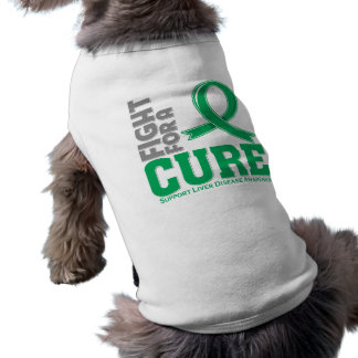 Liver Disease Fight For A Cure Doggie Tee Shirt