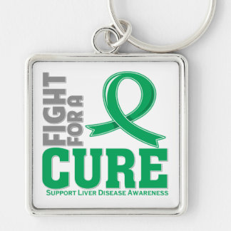 Liver Disease Fight For A Cure Keychain