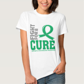 Liver Disease Fight For A Cure T Shirt