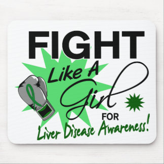 Liver Disease Fight Like A Girl 11 3 Mouse Pads