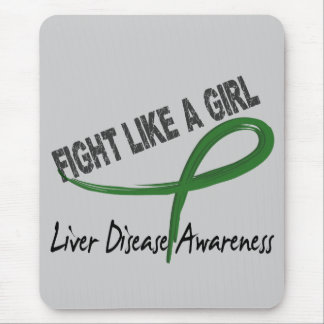 Liver Disease Fight Like A Girl 7 3 Mouse Pads