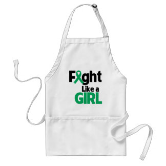Liver Disease Fight Like a Girl Standard Apron