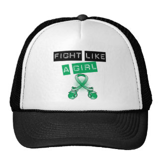Liver Disease Fight Like A Girl Mesh Hat
