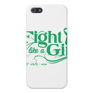Liver Disease Fight Like A Girl Elegant iPhone 5 Covers