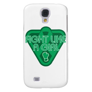 Liver Disease Fight Like A Girl Glove Samsung Galaxy S4 Cover