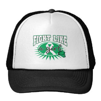 Liver Disease Fight Like A Girl Sporty Callout Cap