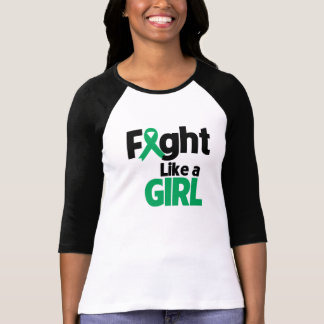 Liver Disease Fight Like a Girl T-shirts