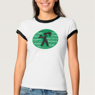 Liver Disease Fight Like A Girl Warrior Collage Shirts