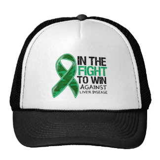 Liver Disease - Fight To Win Trucker Hats