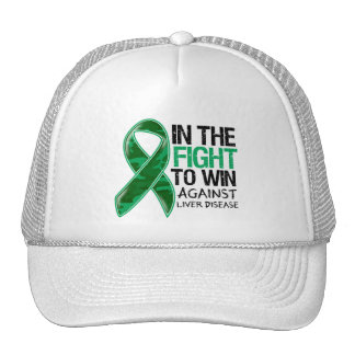 Liver Disease - Fight To Win Hats