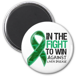 Liver Disease - Fight To Win Refrigerator Magnets