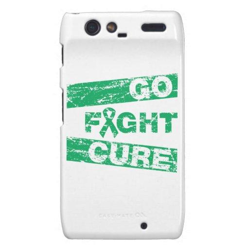 Liver Disease Go Fight Cure Droid RAZR Case