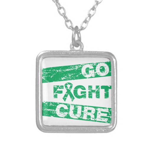 Liver Disease Go Fight Cure Personalized Necklace