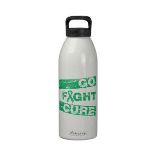 Liver Disease Go Fight Cure Water Bottle